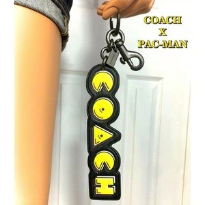 Coach Accessories - Coach PACMAN Keychain Bag Backpack Charm